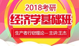 2018考研经济学生产者行窃理论-王杰
