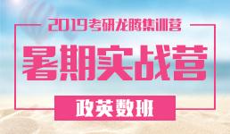 2019考研暑期实战营-政英数班