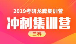 2019考研冲刺集训营-政英数班