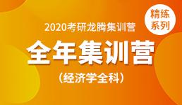 2020考研全年营-经济学全科精练
