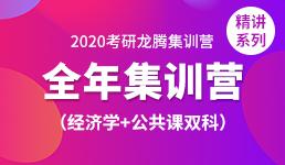 2020考研全年营-经济学+双科精讲
