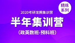2020考研半年营-政英数预科班(精练)