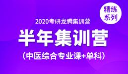 2020考研半年集训营—中医综合专业课+单科