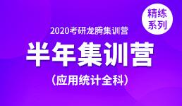 2020考研半年营—应用统计全科(精练)