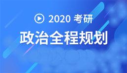 2020考研 政治规划-杜秀玲