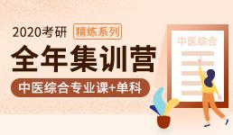 2020考研全年营—中综专业课+单科