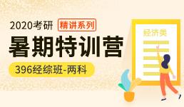 2020考研暑期营-396经综双科精讲班