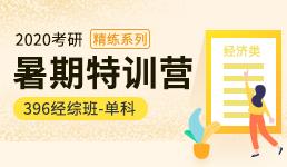 2020考研暑期营-396经综单科精练班