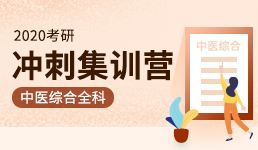 2020考研冲刺集训营-中医综合全科