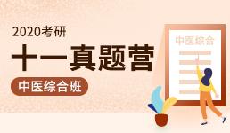 2020考研十一真题营-中医综合班