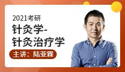 2021考研 中医针灸治疗学-陆亚霖